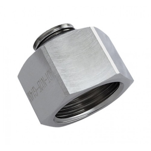 Threading Adapter, NPT 1/2 Female to G 1/4 Male [ADT-N12F-G14M]