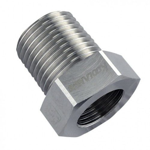 Threading Adapter, NPT 1/2 Male to G 3/8 Female [ADT-N12M-G38F]