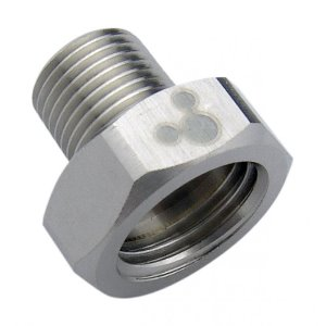 Threading Adapter, NPT 1/8 Male to G 1/4 Female [ADT-N18M-G14F]