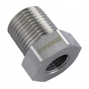 Threading Adapter, NPT 1/4 Female to NPT 1/2 Male [ADT-N14F-N12M]