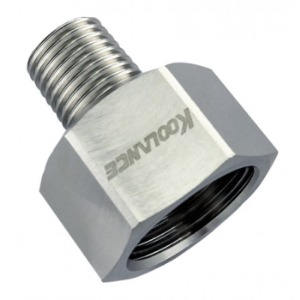 Threading Adapter, NPT 1/4 Male to NPT 1/2 Female [ADT-N14M-N12F]