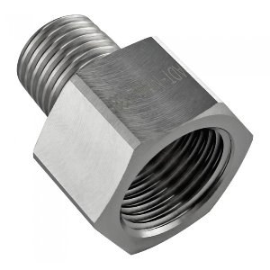 Threading Adapter, NPT 1/4 Male to NPT 3/8 Female [ADT-N14M-N38F]