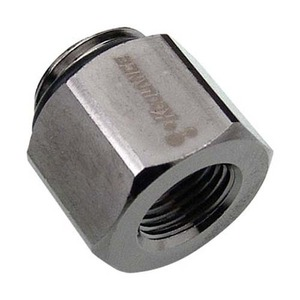 Threading Adapter, G 1/4 Male to NPT 1/8 Female [ADT-G14M-N18F]