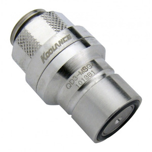 QD3 Quick Disconnect No-Spill Coupling Male, Threaded G 1/4 BSPP[QD3-MSG4]