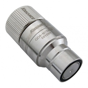QD4 Quick Disconnect No-Spill Coupling, Male Compression for 13mm x 19mm (1/2in x 3/4in)[QD4-MS13X19]