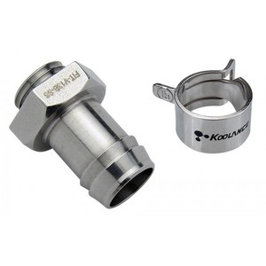 Barb Fitting for ID 13mm , Stainless Steel (FIT-V13B-SS)